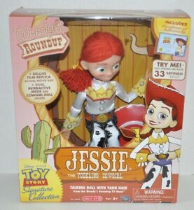 Disney Toy Story Woody's Roundup Jessie Doll Yodeling *Collector's Edition* NEW