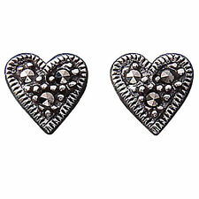 Butterfly Unbranded Marcasite Stud Fine Earrings