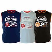 mens vest D555 duke NYC athletic beach sports big king size sleeveless summer