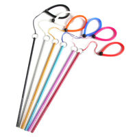 Scuba Diving Aluminium Alloy Lobster Stick Pointer Rod With Lanyard Strap AU