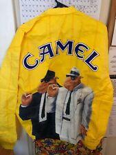 Camel Cigarettes Joe Cool Print Tyvek Full Zip Windbreaker Jacket XL NEW VINTAGE