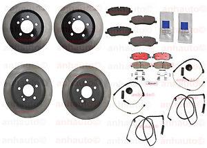Land Rover Range Rover HSE 06-09 4.4L Full Brake Rotors Pads Sensor Kit