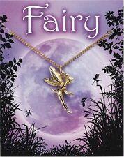 Mini Fairy Pendant - Gold Plated