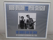 2 CD BOB DYLAN VS. PETE SEGER - SINGER AND THE SONG - NUOVO NEW