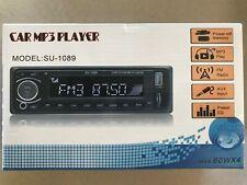 SU-1089 LCD In Dash Car Auto Player USB/SD MP3 Stereo Audio Receiver NEW!