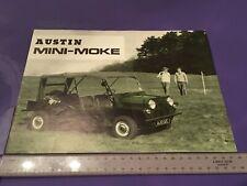 Austin Mini Moke Brochure 1966 - 1967 - Rare original item - 2418