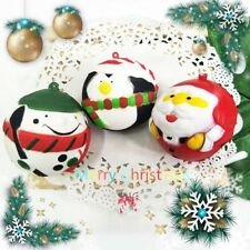 Cute Squishy Slow Rising Santa Claus Snowman Soft Squeeze Christmas Kid Toy Gift
