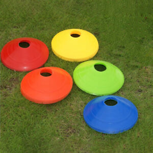 5Pcs 19cm Football Training Sports Saucer Cones Marker Discs Soccer  Accesso.ji
