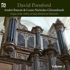 David Ponsford - French Organ Music 3 [New CD]