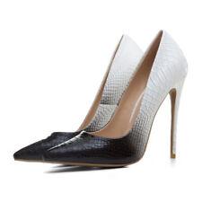 sexy fashion snake-pattern women's shoes stiletto pumps nightclub party lady's