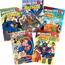 I Can Read Level 2 Dc Comics Justice League Superman,Batman,Aquaman (Box Set)