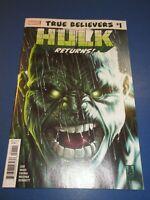 Avengers #684 1st Immortal Hulk True Believers Reprint NM gem Wow