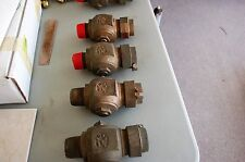 "4 FORD 1 1/2 "" INCH CORPOATION STOPS NEW OLD STOCK."