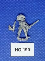 Warhammer Fantasy Games Whorkshop Mordheim - Reiklander Captain - HQ190