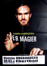 BERLEPSCH, THIMON VON - 2016 - Plakat - Der Magier - Poster - Oberhausen