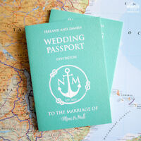 Passport Wedding Invitations ~ Destination / Travel  wedding passport invites