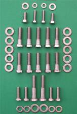 ROVER V8 - inlet manifold stainless steel hex head bolt kit SD1 Land Range Rover