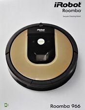 IROBOT Roomba 966 Vacuum Robot, Black / Braun - Nip, Dealer