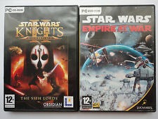 Star Wars Knights of the Old Republic 2 Empire of War Game bundle for Windows PC