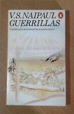 V. S. NAIPAUL :  GUERRILLAS.   Penguin (Paperback 1977).
