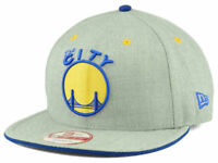 Golden State Warriors New Era 9Fifty NBA HWC Heather Team Snapback Cap Hat