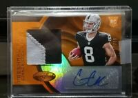 2016 Panini Certified Connor Cook Rookie Patch Auto #'d/99 Oakland Raiders RPA