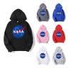 Adults Kids Unisex NASA Logo Print Pullover Hoodie Stylish Trendy Sweatshirt Top
