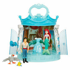 Little Mermaid Ariel and Prince Eric 6-pc. Figurine Set with Gazebo Disney