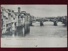 Cartoline paesaggistiche di Firenze da collezione