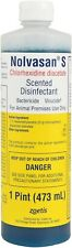 Nolvasan S Solution Scented Disinfectant Bactericide For Animal Premises 16 oz