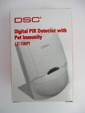 (NEW) DSC LC-100-PI - DIGITAL PIR DETECTOR WITH PET IMMUNITY
