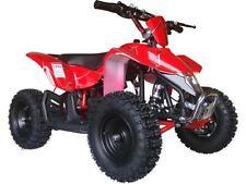 Four Wheeler For Kids Electric Battery 24V V3 Mini Quad Dirt Bike Outdoor Red