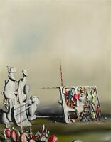 "YVES TANGUI Poster or Canvas Print ""There, Motion Has Not Yet Ceased"""