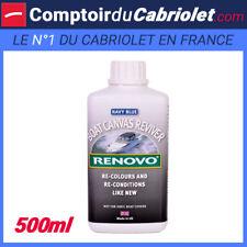 Teintant pour toile canvas bleu Renovo Marine - 500 ml