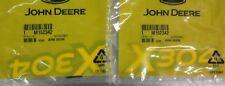 John Deere Genuine OEM Hood Decal Set of Two M152342 for X304