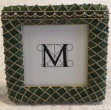 Faberge Enamel Crystal Green Square Photo Frame Metropolitan Museum Of Art MMA
