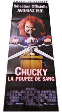 Affiche 60x160cm CHUCKY LA POUPÉE DE SANG (CHILD'S PLAY 2) 1191 John Lafia NEUVE