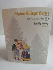 Dept 56 Alpine Village Family Outing 6000567
