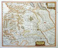 ITALIEN ITALY PIEMONT SIGNORIA DI VERCELLI LAGO MAGGIORE ORTA NOVARA BLAEU 1640