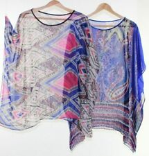 Sleeve Multi-Colored Plus Size Tops & Blouses for Women