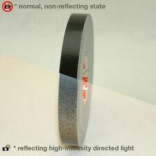 3M Scotch Scotchlite Reflective Striping Tape: 1/2 in. x 50 ft. (Black)