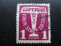 DANZIG GDANSK Mi. #255 scarce used stamp! CV $20.50