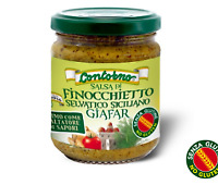 Salsa di Fionocchietto selvatico siciliano Giafar 200g Prodotto Tipico Siciliano