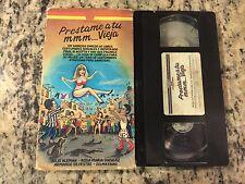 PRESTAME A TU MMM...VIEJA RARE VHS 1969 SPANISH MEXI JULIO ALEMAN, ROSA VAZQUEZ!