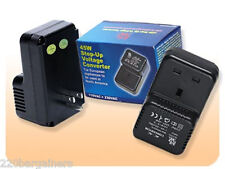 45 Watt UK To US USA Power Voltage Converter 110 to 220 Volt Adapter Charger