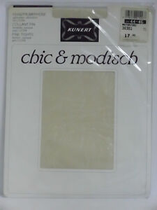 "Kunert chic&modisch blickdichte Strumpfhose ""Intarsien"" natur Gr. 42-44"