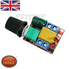 New Ultra-small DC 3V 6V 12V 24V 35V PWM Mini Motor Speed Controller Switch 5A