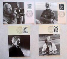 AUSTRALIA 150 YEARS PHOTOGRAPHY 1991 4 MAXIMUM CARDS FD 13 MAY 1991
