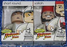 Indiana Jones Short Round and Sallah Mighty Muggs Action Figure Set New MISP