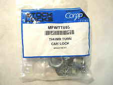New In Package Compx Fort Mfwtt058 Thumb Turn Cam Lock Panel Boxes, Cabinets